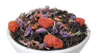 Иван-чай с земляникой или клубникой
