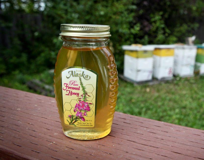 Цветок иван чай мёд
