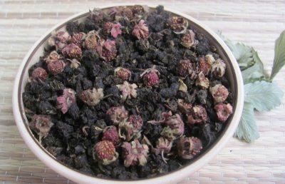 иван-чай с земляникой
