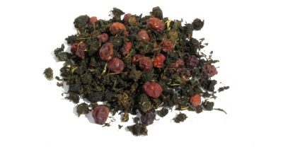 Иван-чай с травами и ягодами